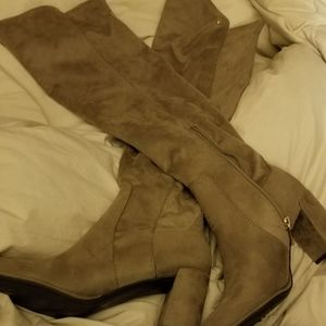 Long Swede Boots